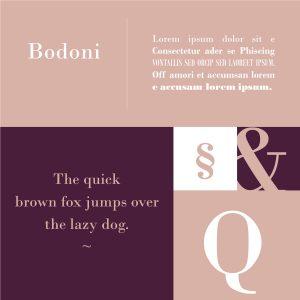 Font Bodoni