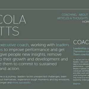 La tipografia web di Nicola Potts